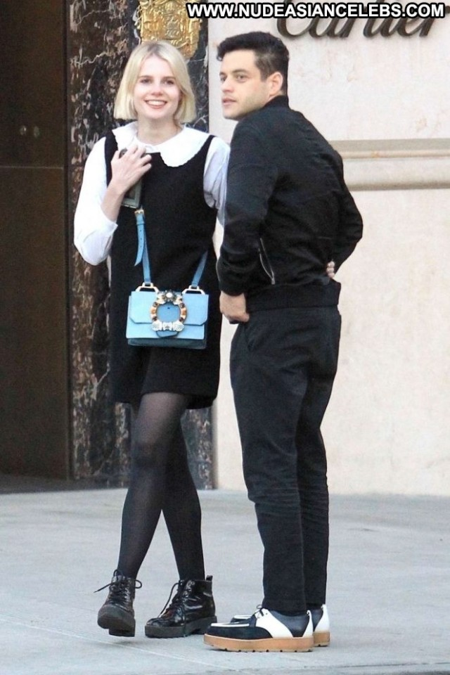 Lucy Boynton Beverly Hills Posing Hot Babe Boyfriend Beautiful