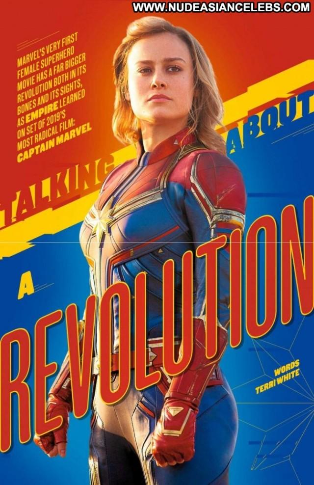 Brie Larson No Source Babe Magazine Paparazzi Celebrity Posing Hot Uk