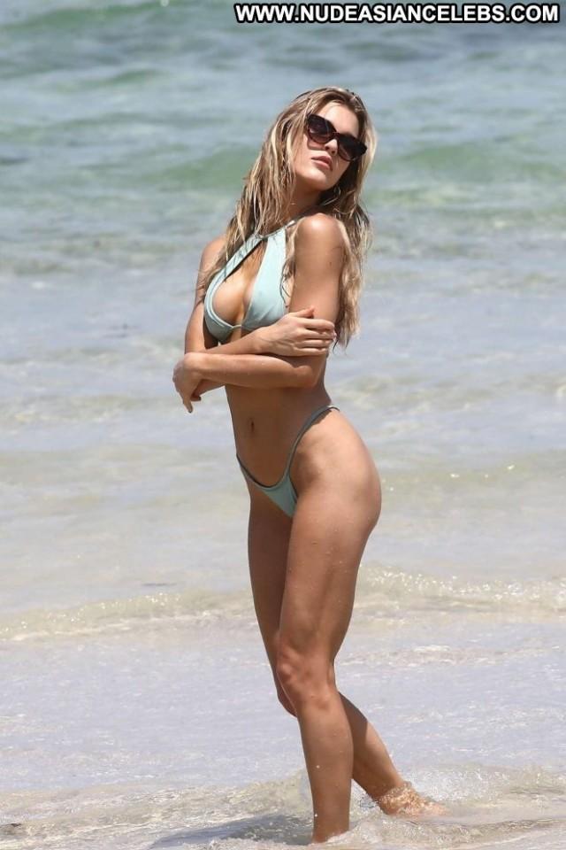 Photos The Beach Paparazzi Photoshoot Posing Hot Bikini Babe Beach
