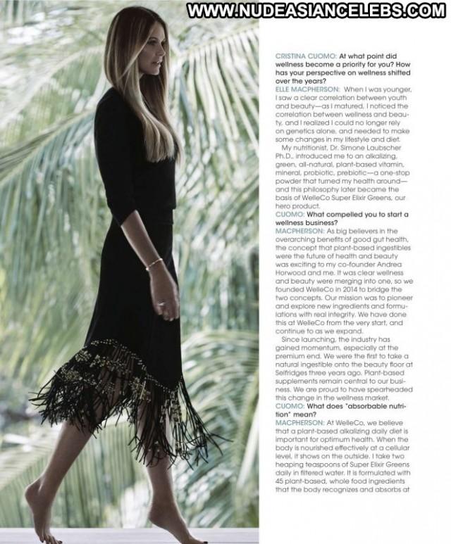 Elle Macpherson Le Mac Paparazzi Magazine Beautiful Celebrity Babe