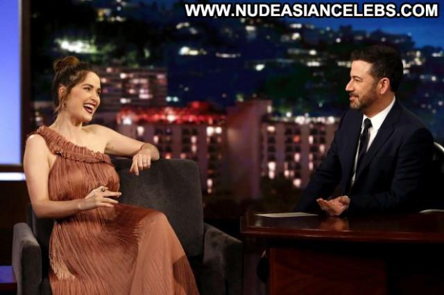 Rose Jimmy Kimmel Live Angel Posing Hot Celebrity Live Babe Beautiful
