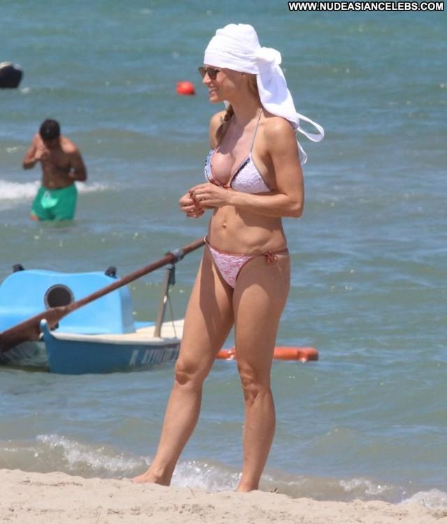 Michelle Hunziker The Beach Beautiful Twitter Italian Sexy Italy