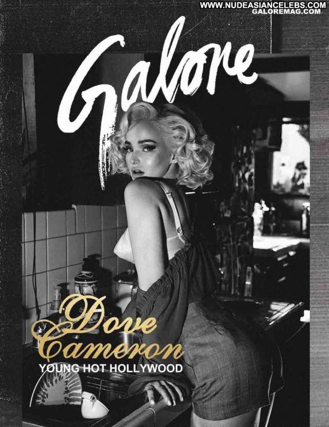 Dove Cameron Galore Magazine Celebrity Actress Beautiful Hollywood