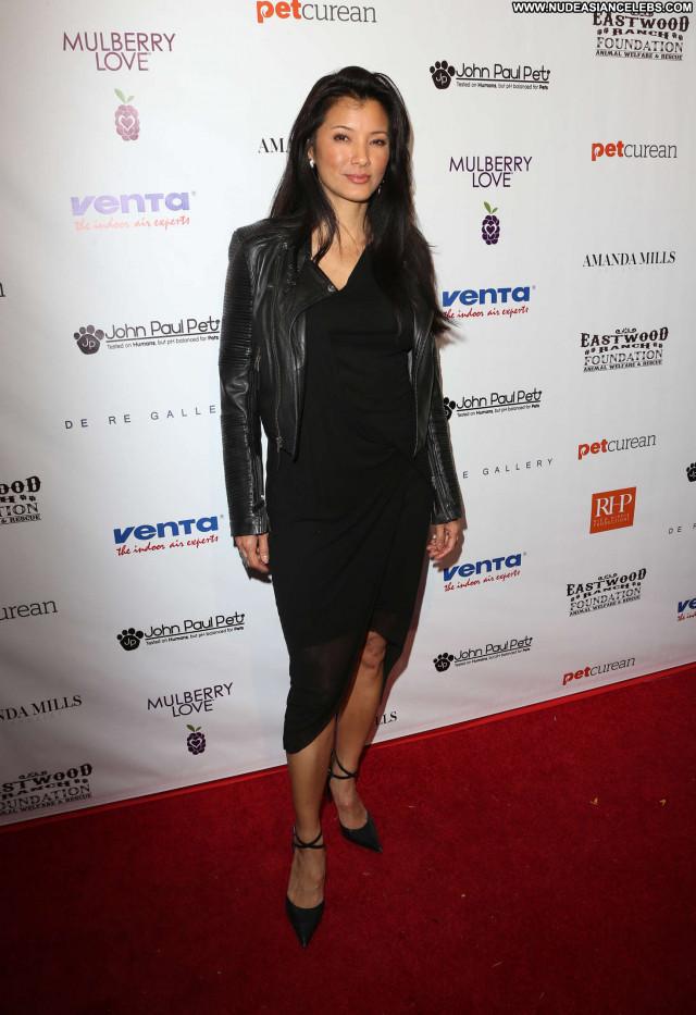 Kelly Hu No Source Babe Celebrity Paparazzi Beautiful Ranch Posing Hot