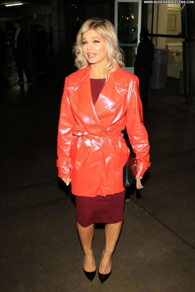 Donna Derrico Los Angeles Babe Celebrity Beautiful Paparazzi Posing